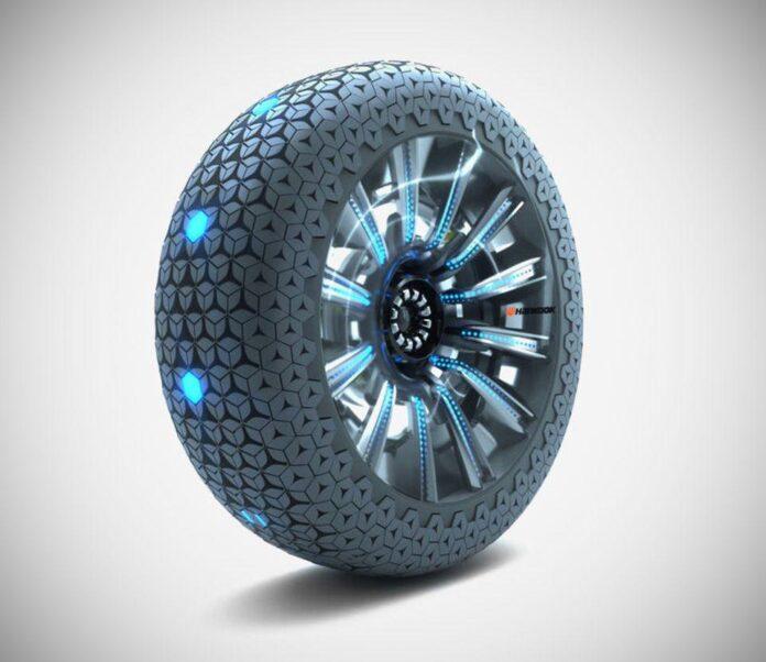 چرخ هوشمند هگزونیک Hankook و آینده خودروهای اُوادا
