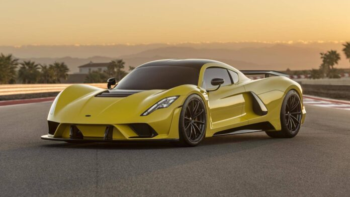 ابرخودرویVenom F5 هنسی سریعترین خودروی خیابانی جهان