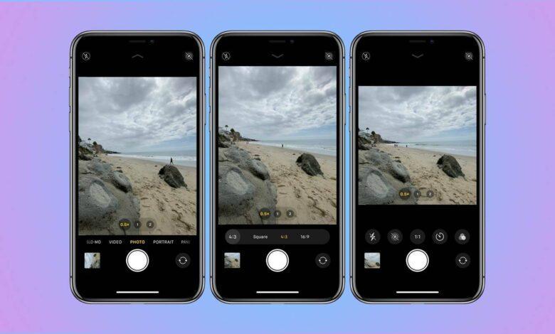 روش تغییر نسبت ابعاد دوربین آیفون 11, گرفتن عکس square در آیفون 11, گرفتن عکس مستطیلی در آیفون 11, روشتک, raveshtech, تغییر ابعاد شات دوربین ایفون 11, ترفندهای آیفون, آمورش آیفون, تنظیم دوربین آیفون