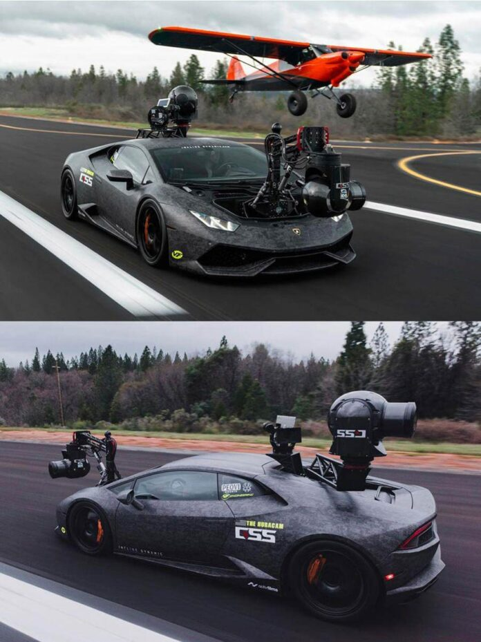 لامبورگینی HuraCAM ، سریعترین دوربین خودروی جهان