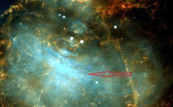 عکس هابل از گذرگاه سیارکی روبروی سحابی خرچنگ