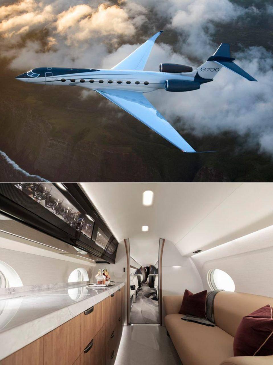Photo of جت فرا لوکس Gulfstream G700