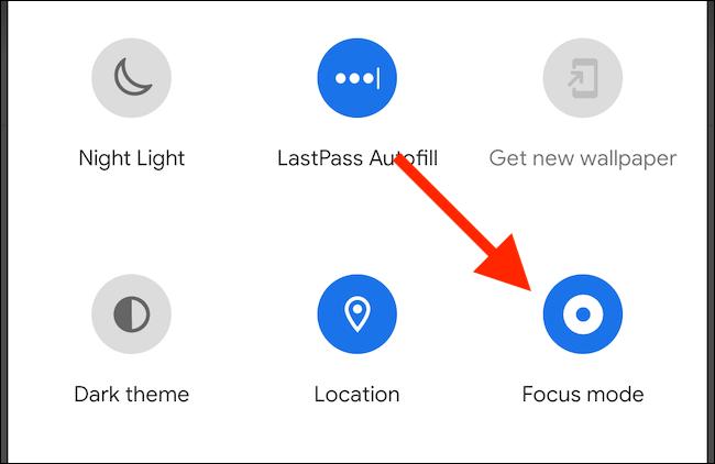 استفاده از Focus Mode در اندروید 10
