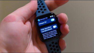 روش خاموش کردن Always On Display اپل واچ سری 5