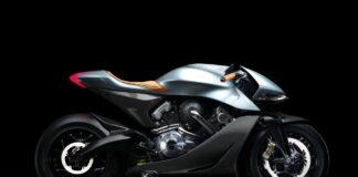 موتورسیکلت AMB 001 استون مارتین