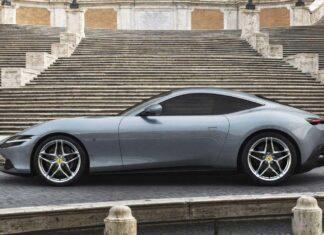 خودروی Ferrari Roma کوپه رونمایی شد