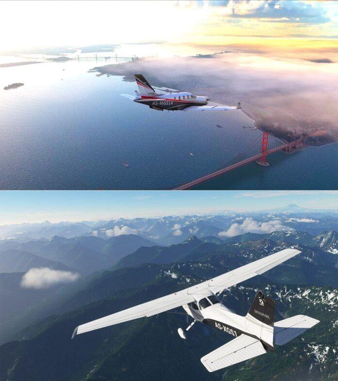 بازی Flight Simulator مایکروسافت در نمایشگاه X019 رونمایی کرد
