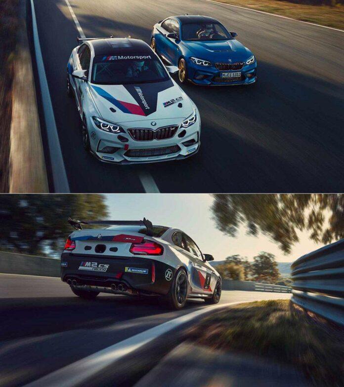 خودروی مسابقه ای M2 CS Racing کمپانی BMW