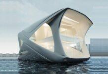 خانه شناور مفهومی Ocean Community