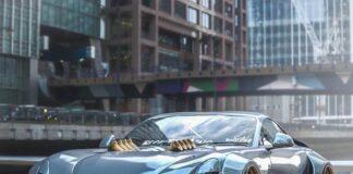 خودروی سفارشی TVR Griffith پهن تن (widebody)