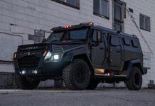 خودروی زرهی اینکاس سنتری سولین 2020