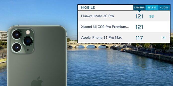 امتیاز iPhone 11 Pro در بررسی کیفیت دوربین از طرف DXOMark