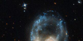عکس ترسناک ناسا از دو کهکشان شبح مانند