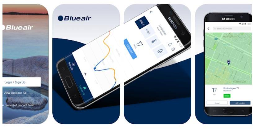 برنامه Blueair Friend