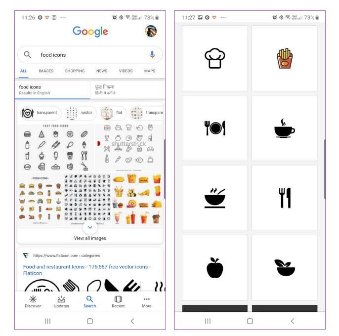 برنامه GOOGLE IMAGE SEARCH