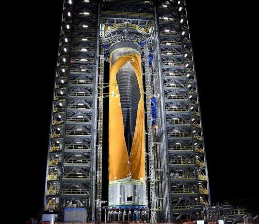 سامانه پرتاب فضایی SLS ناسا برای پرتاب نیرومند ترین موشک جهان رونمایی شد