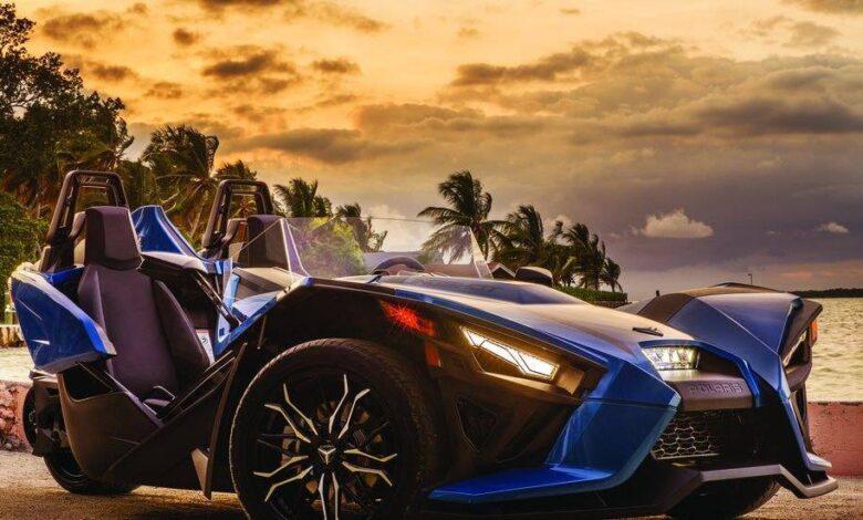 خودرو Polaris Slingshot 2020 یک خودرو کارتینگ و مجاز خیابان رو