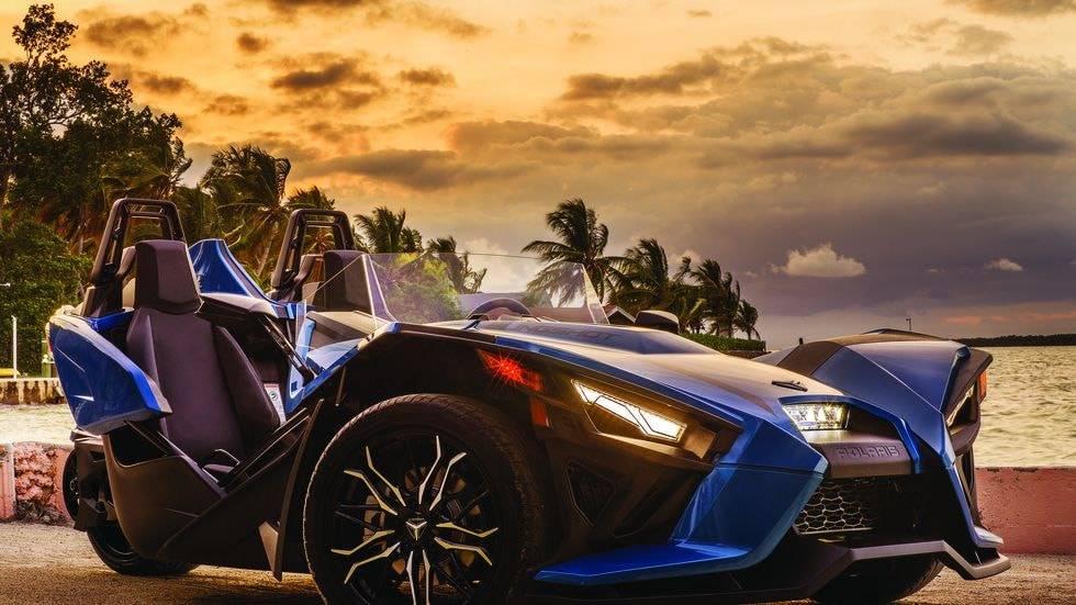 تصویر خودرو Polaris Slingshot 2020 یک خودرو کارتینگ و مجاز خیابان رو