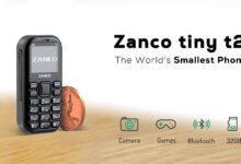 Zanco Tiny T2 کوچکترین گوشی 3G جهان برای مواقع اضطراری