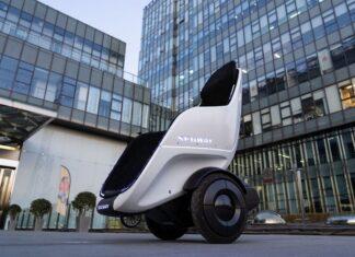 صندلی دو چرخ Segway-Ninebot S-Pod در CES 2020 به نمایش در آمد