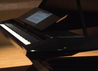 نمایش پیانوی GPX-F1 Facet ساخت ژاپن در CES 2020