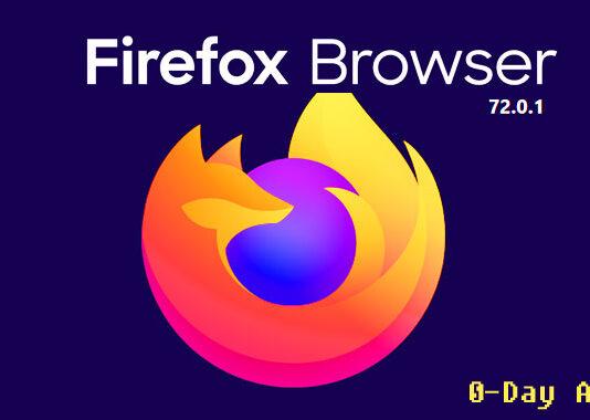 مرورگر فایرفاکس تحت آسیب پذیری Zero Day قرار گرفت است
