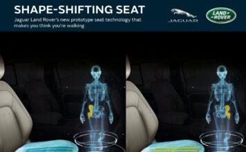 توسعه صندلی تغییر شکل دهنده خودرو توسط جگوار با تقلید راه رفتن انسان
