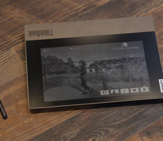لپتاپ ThinkBook Plus لنوو با نمایشگر ثانویه e-link