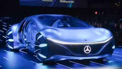 مرسدس بنز VISION AVTR یک آواتار واقعی با امکان رانندگی یه وری
