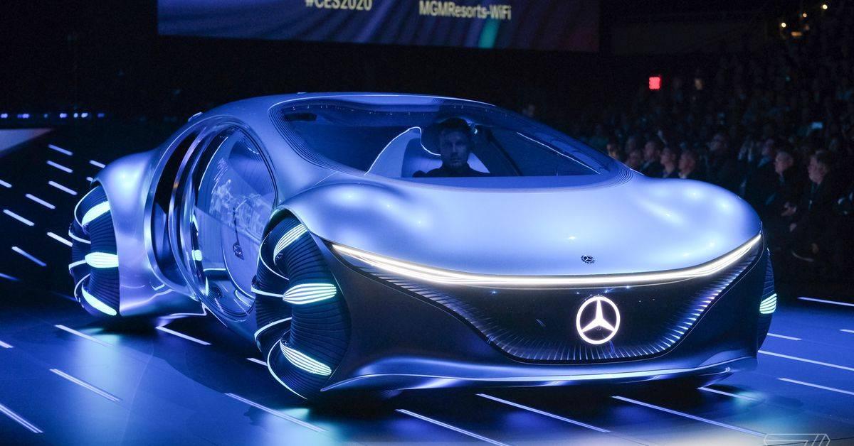 Photo of مرسدس بنز VISION AVTR یک آواتار واقعی با امکان رانندگی به کناره ها