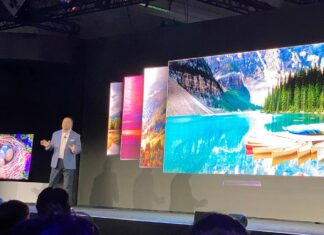 تلویزیون Q950 8K QLED سامسونگ در CES 2020