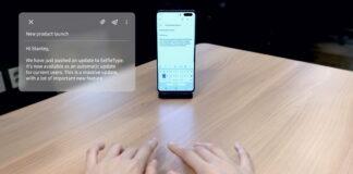کیبورد هوشمند SelfieType سامسونگ در نمایشگاه CES 2020