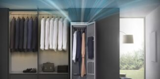 کمد خشکشویی هوشمند AirDresser سامسونگ