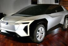 خودرو کانسپت Crossover تمام برقی سوبارو در یک همایش مطبوعاتی رونمایی شد