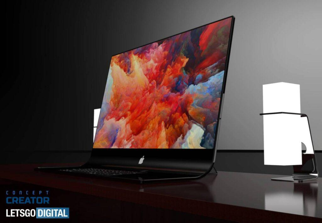 Apple iMac Pro (2020) Made from Single Piece of Curved Glass Gets Rendered in New Video