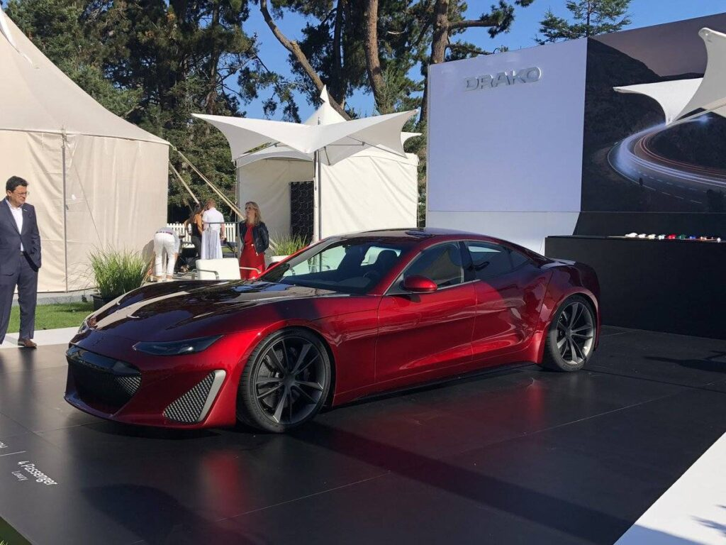 Drako GTE Electric Supercar