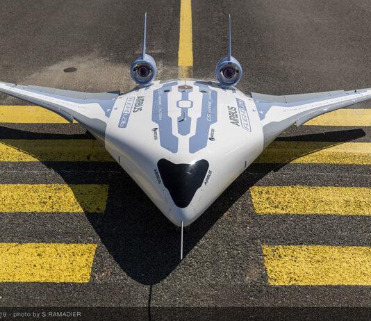 رونمایی ایرباس از هواپیمای MAVERI با فناوری Blended Wing Body