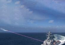 تجهیز ناوهای جنگی آمریکا به سلاح لیزری ضد پهپاد