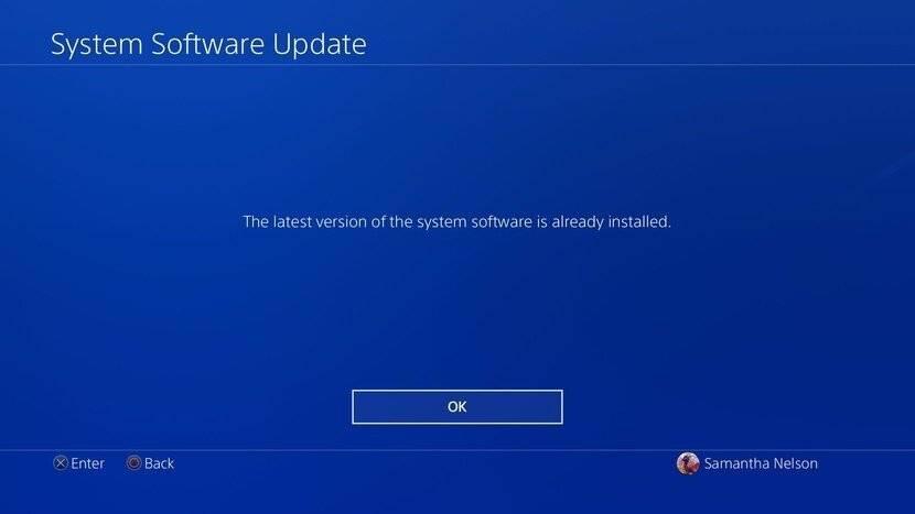 آیا PS4 شما از آخرین نسخه فریمور خود استفاده می کند؟