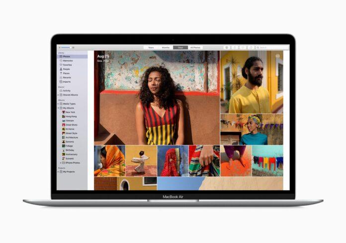 مک بوک ایر 2020 به روز شده اپل