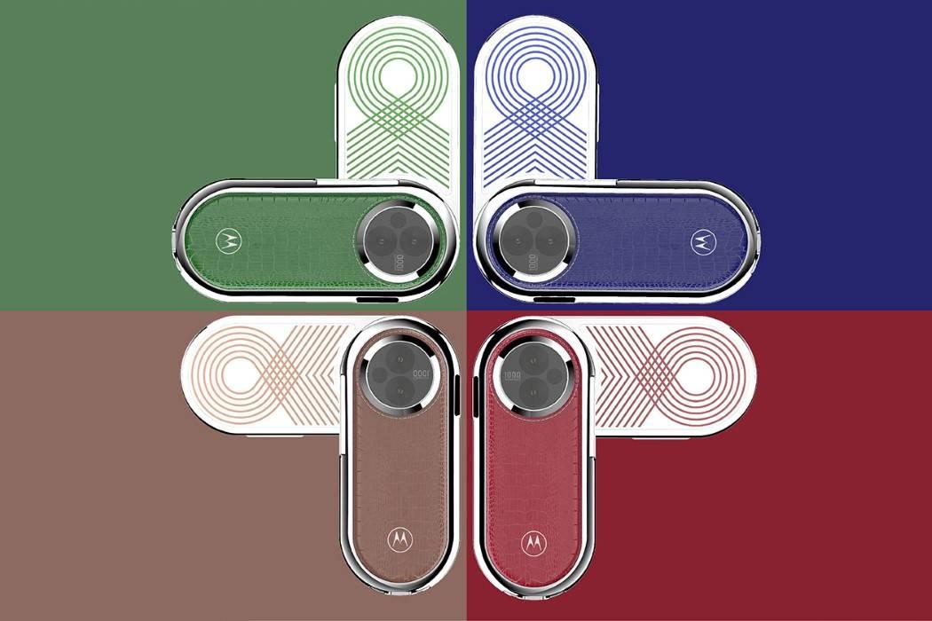 Photo of گوشی موتورولا Revolve با دو نمایشگر OLED و روکش چرمی
