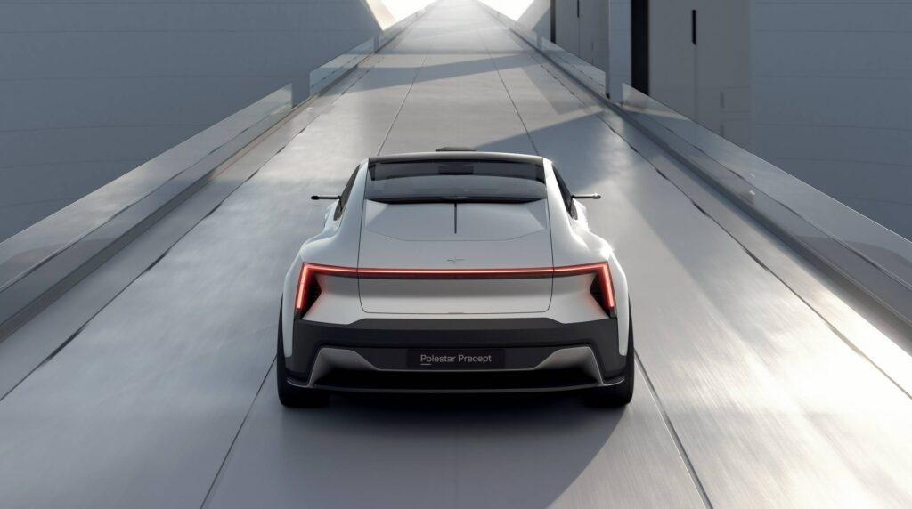 All-Electric Polestar Precept Will Give the Tesla Model S a Run for Its Money, Has Wireless Charging