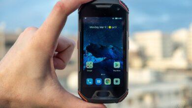 گوشی Unihertz Atom XL شاید کوچکترین گوشی 4G سرسخت جهان باشد