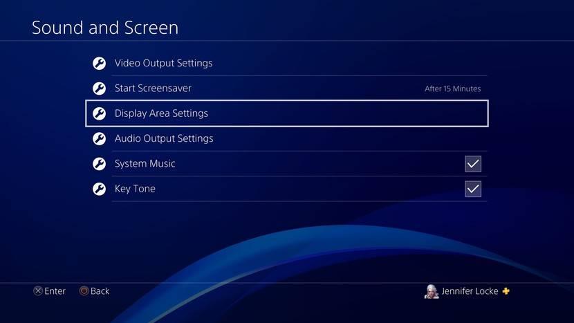 حل مشکل بریدگی تصویر در PS4