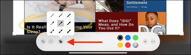 روش گرفتن اسکرین شات با قلم آیپد و ویرایش و یادداشت نویسی در آن