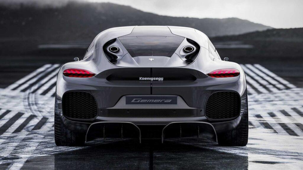 Koenigsegg Gemera is a 4-Seat Hypercar Pumping Out 1,700HP