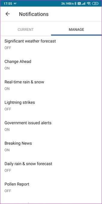 برنامه The Weather Channel