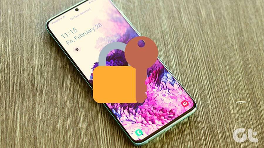 تصویر روش خاموش کردن قفل هوشمند سامسونگ گلکسی S20 ، S20+ و S20 Ultra