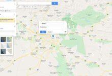 روش سفارشی کردن نقشه گوگل مپ