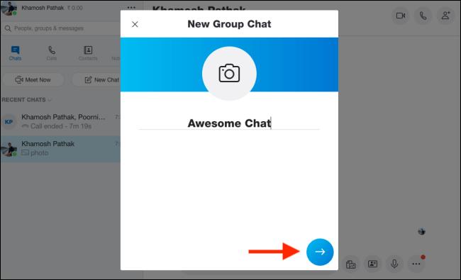 برقراری تماس ویدئویی گروهی در اسکایپ ویندوز و مک